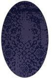 rug #1088907 | oval faded rug