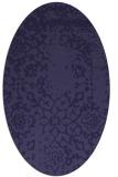 rug #1088909 | oval faded rug