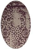 rug #1088990 | oval traditional rug