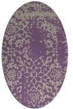 rug #1089003 | oval traditional rug