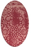 rug #1089046 | oval traditional rug
