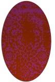 rug #1089084   oval faded rug