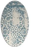 rug #1089126   oval white traditional rug