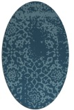 rug #1089128 | oval natural rug