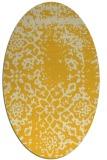rug #1089135   oval faded rug