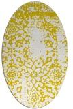 rug #1089143 | oval faded rug