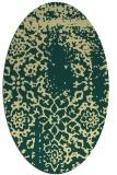 rug #1089151   oval faded rug