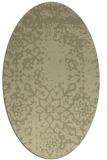 rug #1089160 | oval traditional rug