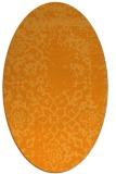 rug #1089178 | oval damask rug