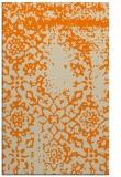 rug #1089186 |  orange traditional rug