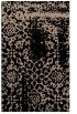 rug #1089198 |  black damask rug