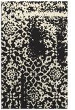 rug #1089210 |  black faded rug