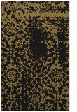 rug #1089214 |  mid-brown damask rug