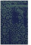 rug #1089226 |  blue damask rug