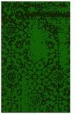 rug #1089246 |  green damask rug