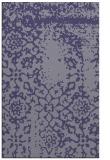 rug #1089278 |  blue-violet traditional rug