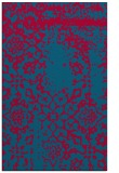 rug #1089310 |  blue-green faded rug