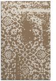 rug #1089342 |  mid-brown faded rug