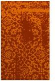 rug #1089454 |  red-orange traditional rug