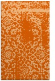 rug #1089458 |  red-orange traditional rug