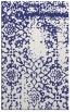 rug #1089482 |  blue damask rug