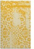rug #1089502 |  yellow faded rug
