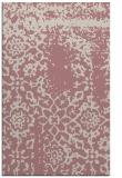 rug #1089542 |  pink damask rug