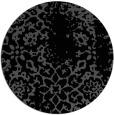 rug #1089562 | round black natural rug