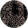 rug #1089566 | round black natural rug