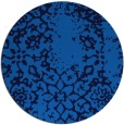 rug #1089586   round blue rug