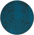 rug #1089622 | round faded rug