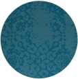 rug #1089629 | round faded rug
