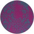 rug #1089639 | round faded rug
