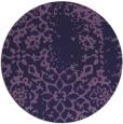 rug #1089654   round purple popular rug