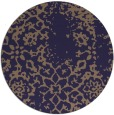 rug #1089662 | round beige faded rug