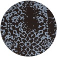 rug #1089668   round faded rug