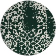 rug #1089692 | round faded rug
