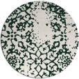rug #1089693 | round damask rug