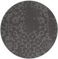 rug #1089706 | round brown rug