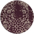 rug #1089727   round faded rug