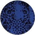 rug #1089754 | round black natural rug