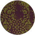 rug #1089794 | round purple faded rug