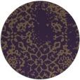 rug #1089798 | round mid-brown popular rug