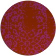 rug #1089820 | round faded rug