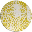 rug #1089846 | round white faded rug