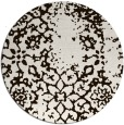 rug #1089854 | round faded rug