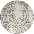 rug #1089866 | round white popular rug