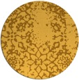rug #1089882 | round light-orange traditional rug