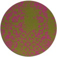 rug #1089898 | round light-green natural rug