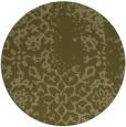 rug #1089902 | round light-green damask rug
